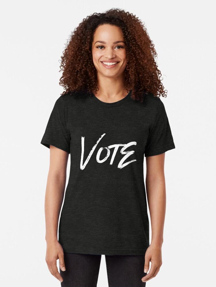 Alternate view of VOTE Tri-blend T-Shirt