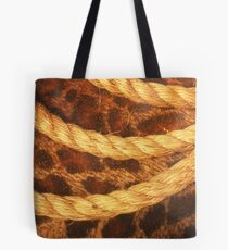Three rope convergent Tote Bag