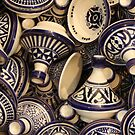 Fes ceramic cooperative: tagines by Christine Oakley