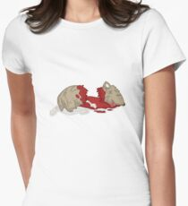 the guinea pig murders... Womens Fitted T-Shirt