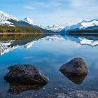 Maligne Lake by Brendan Buckley