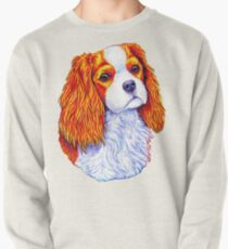Colorful Cavalier King Charles Spaniel Dog Pullover