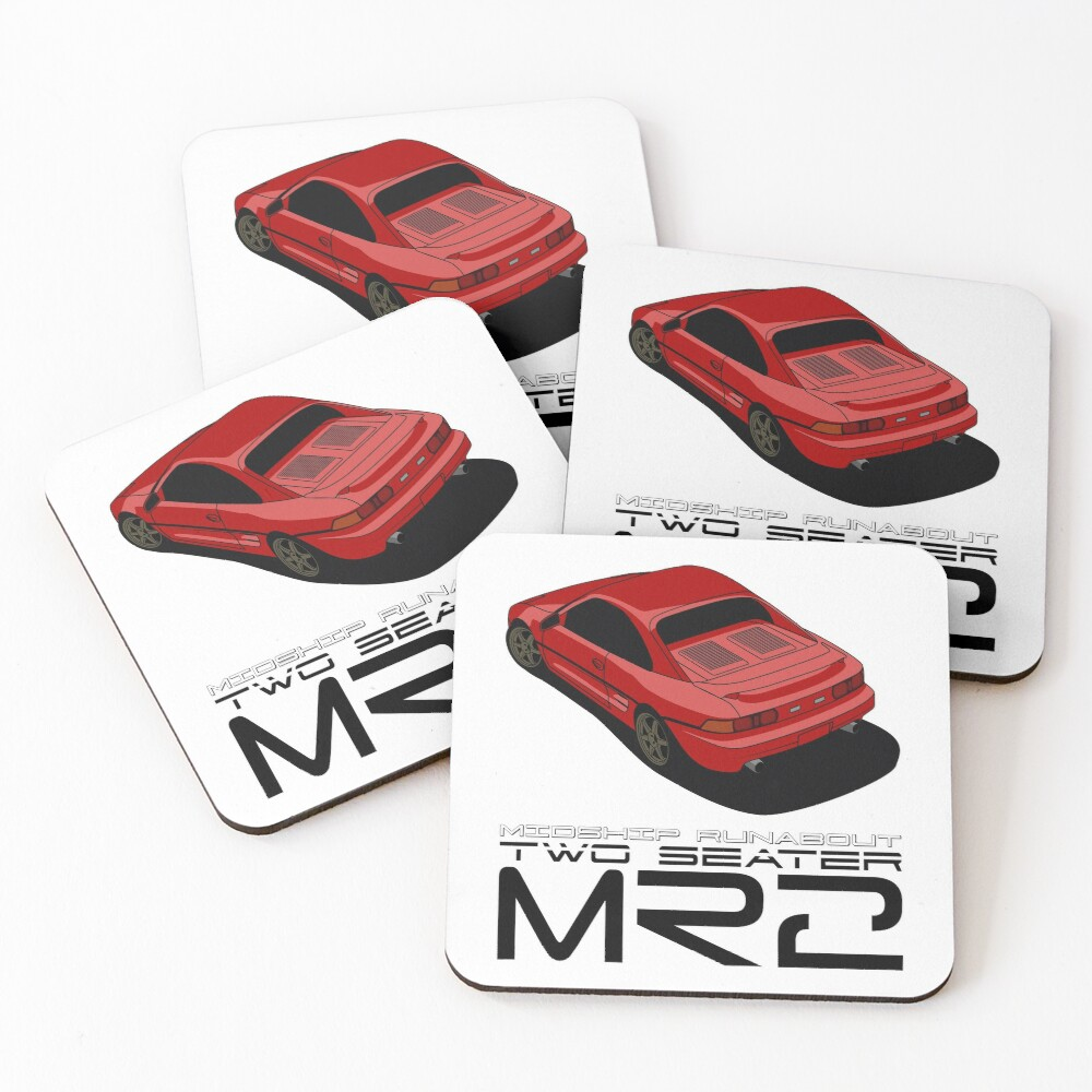 MR2 SW20 Coasters (Set of 4)