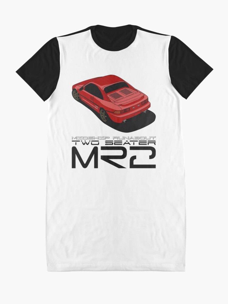 Alternate view of MR2 SW20 Graphic T-Shirt Dress