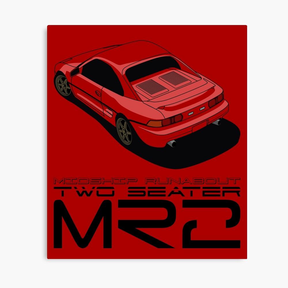 MR2 SW20 Canvas Print