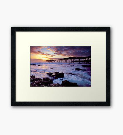 Catherine Hill Bay, NSW Framed Print