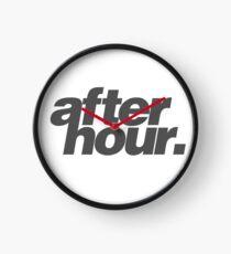 afterhour #1 Uhr