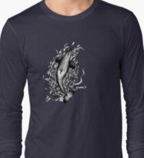 Saddle Patch Heart v2 Long Sleeve T-Shirt