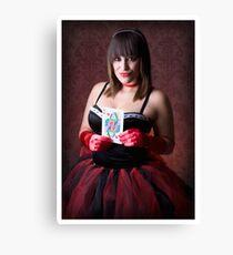 Queen of Hearts - Metaphors Canvas Print