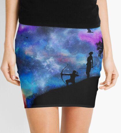 We Bring Ravens Mini Skirt