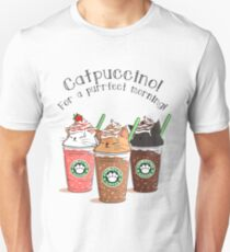 CATPUCCINO! FOR A PURRFECT MORNING ! T-SHIRT Unisex T-Shirt