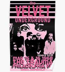 Velvet Underground Philadelphia Poster Poster