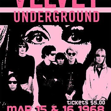 Velvet Underground Philadelphia Poster by RatRock