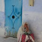Don't ask me to tell (Chefchaouen, Morocco) by Christine Oakley