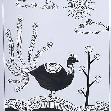 Madhubani Art by ranjaniart