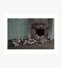 Abandoned Detroit 2 (The Chimney) Art Print
