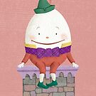 Humpty Dumpty Sat on a Wall by Tracy Sabin