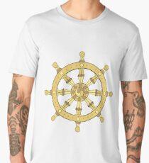 classic dharma wheel Men's Premium T-Shirt