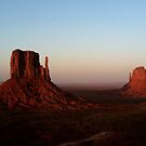 Monument Valley vastness by Melanie Roelofs