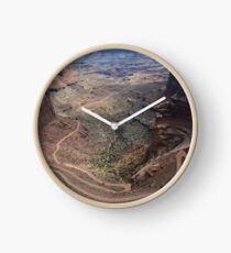 Shafer Trail in Canyonlands National Park Clock