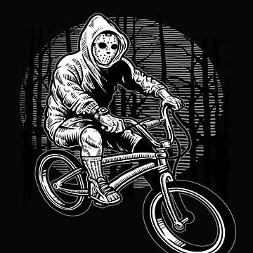 BMX Masked Night Rider by GarnetLeslie