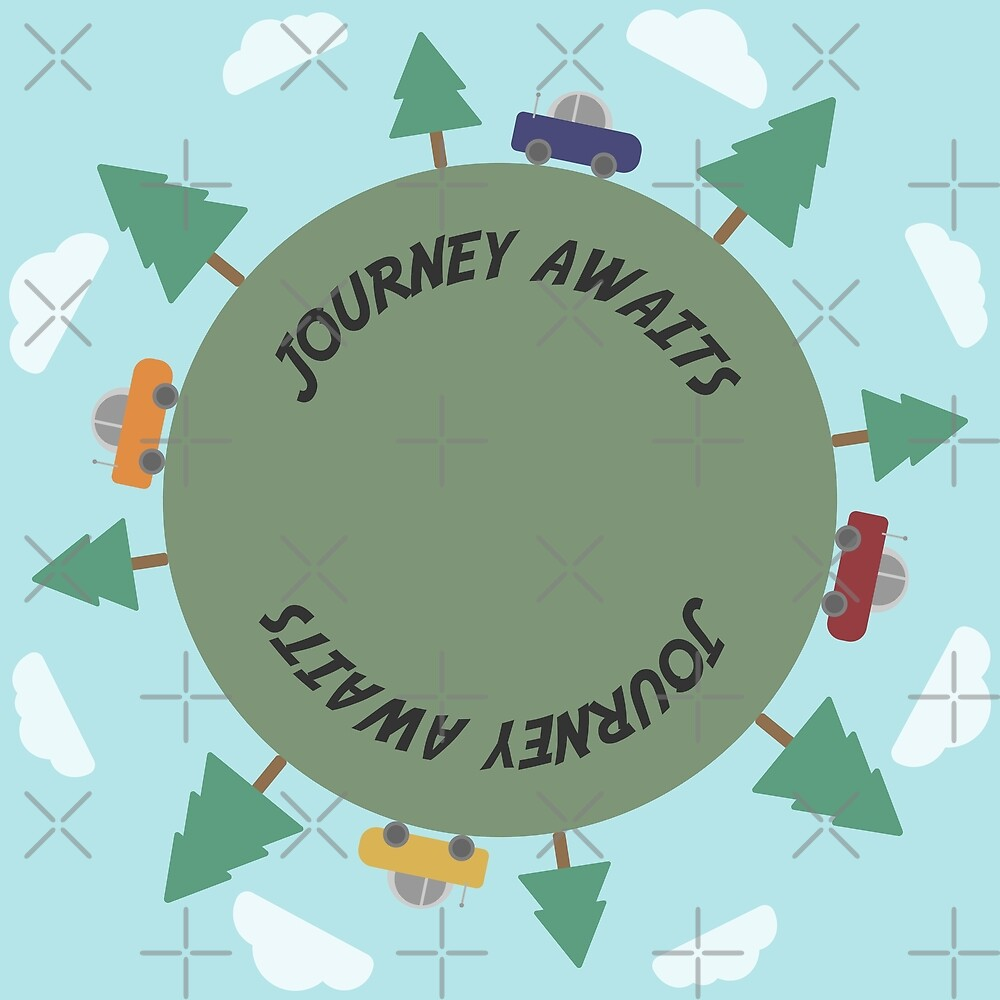 Journey Awaits by designsbyesrael