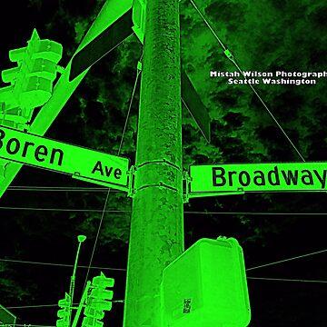 Boren Avenue & Broadway DARK FOREST Seattle Washington by Mistah Wilson Photography by MistahWilson