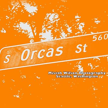 South Orcas Street1 CREME ORANGE Seattle Washington by Mistah Wilson Photography by MistahWilson