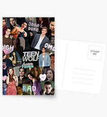 Teen Wolf Collage 2  Postcards