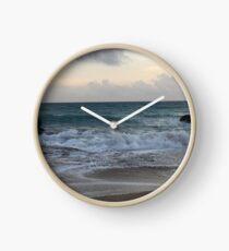 Beach Sunset Clock