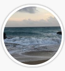 Beach Sunset Sticker