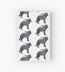 Alaskan Sunset Wolf Hardcover Journal
