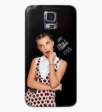 Funda/vinilo para Samsung Galaxy Millie Bobby Brown / Once 11