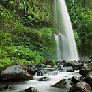 Down stream from the Sendang Gila waterfall  by Stephen Colquitt