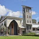 Roman Catholic Church in Quepos by Carole-Anne