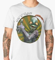 New 'N' Tasty - Abe's Exoddus - Oddworld Men's Premium T-Shirt