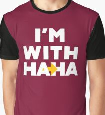 Im with Haha 1 Graphic T-Shirt