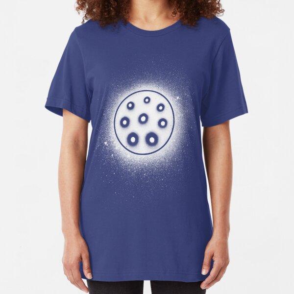 Handpan Pantam in Space Slim Fit T-Shirt