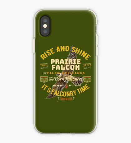 Falconers Prairie Falcon Gifts and Apparel for Longwingers Who Fly Prairie Falcons Great Falconry Supplies T-shirts iPhone Case