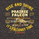 Falconers Prairie Falcon Gifts and Apparel for Longwingers Who Fly Prairie Falcons Great Falconry Supplies T-shirts by Robert Diebold