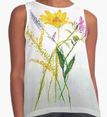 SERIES JASMIN WATERCOLOR FLOWERS Kontrast Top