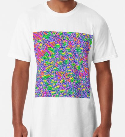 Abstract flowers Long T-Shirt