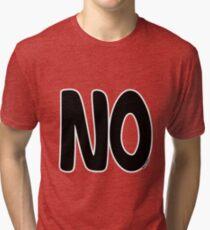 """Le fameux t-shirt """"NO"""" T-shirt chiné"""