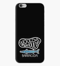 Woulda, shoulda, Barracuda collection. iPhone Case