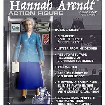 Hannah Arendt Action Figure by GiantsOfThought