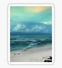 a vast Bahamas landscape Sticker