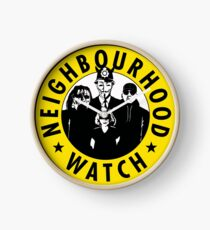 Neighbourhood Watch Clock