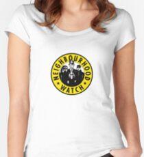 Neighbourhood Watch Women's Fitted Scoop T-Shirt