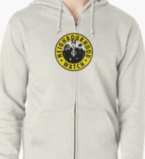 Neighbourhood Watch Zipped Hoodie