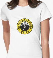 Neighbourhood Watch Women's Fitted T-Shirt